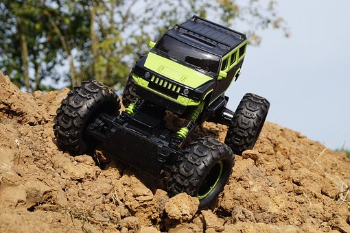 auto terenowe rock crawler king